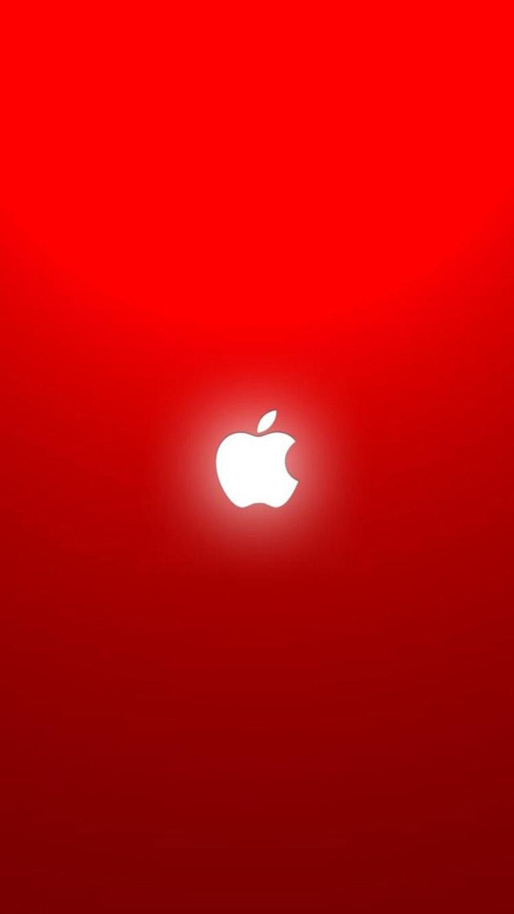 Iphone apple logo red free apple papers - Original apple logo wallpaper ...
