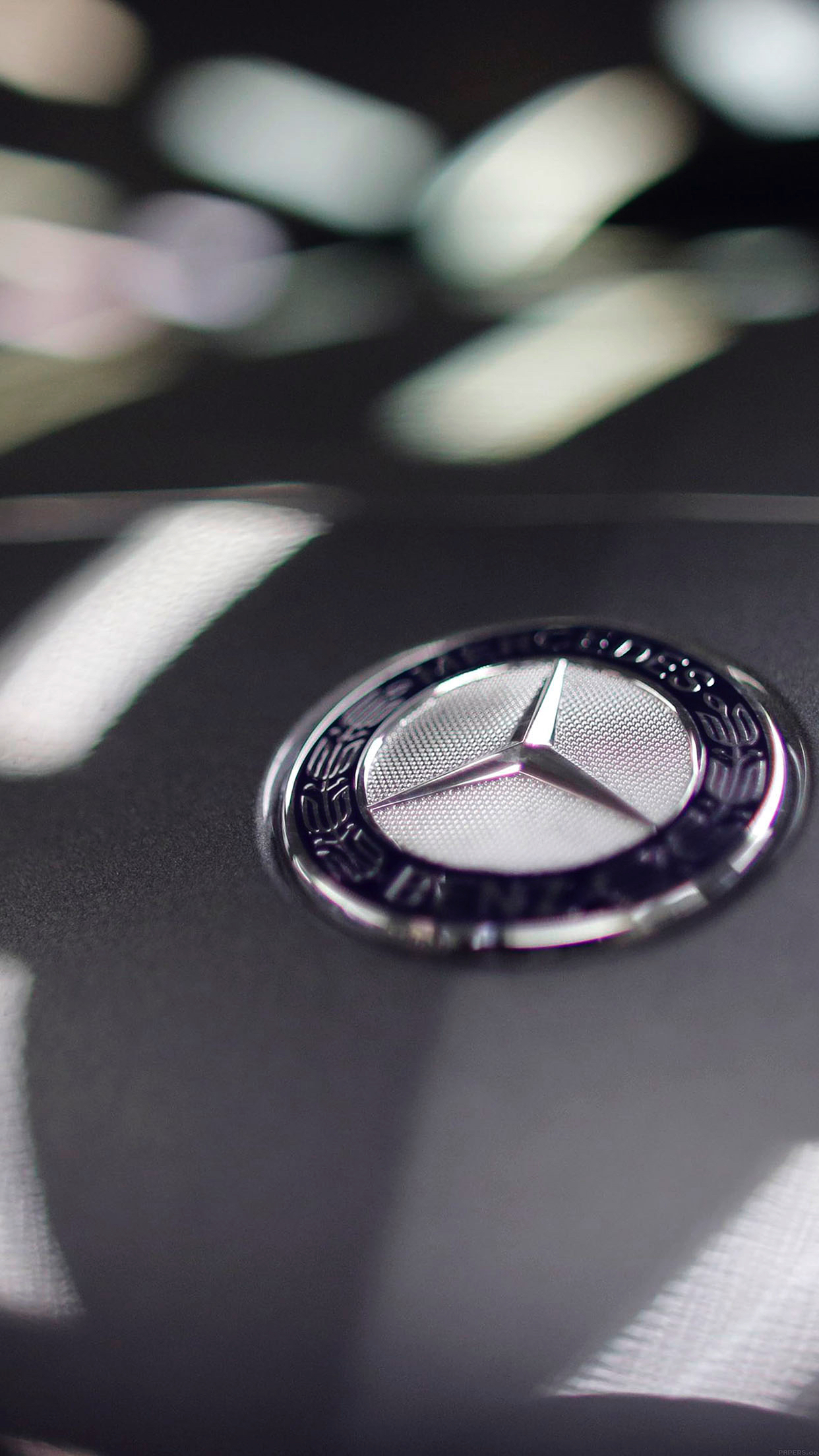 Iphone benz logo free apple papers iphone benz logo voltagebd Image collections